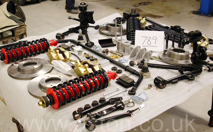 Driveability - Monte Carlo suspension kit plus power assisted steering kit