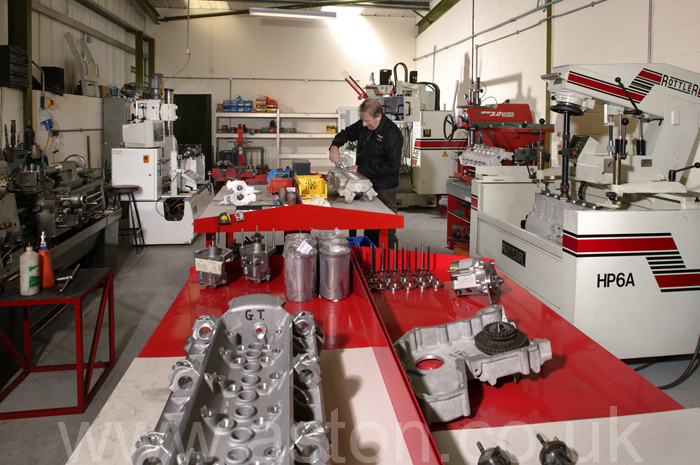 Having our own very capable machine shop saves time and cost and ensures a costly element of the mechanical restoration can be controlled