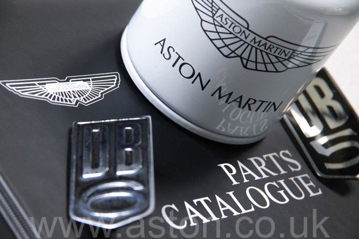 We use genuine Aston Martin Parts