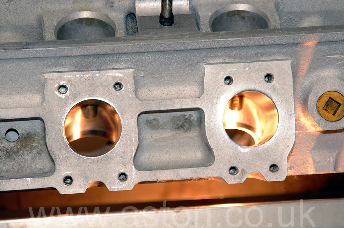 Some serious work to gas flow this cylinder head has taken place