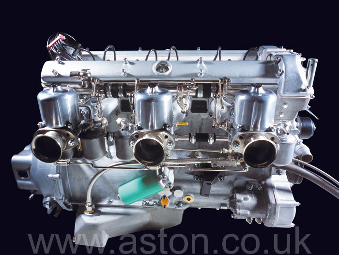 Aston Martin engines have always been well finished - We like them that way too.
