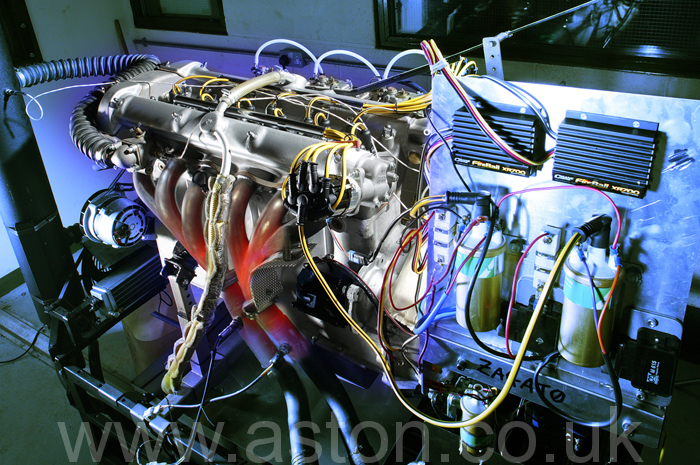 Every engine is run in and finally tested at full power to ensure all is well prior to final installation in the car