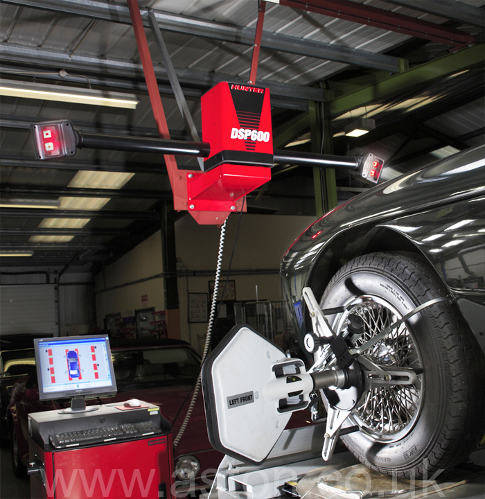 Suspension and Steering alignment check